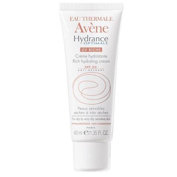 Дневной уход Avene Гидранс Оптималь Риш UV20 40 мл avene крем увлажняющий защищающий hydrance оптималь uv20 риш для сухой кожи лица 40 мл
