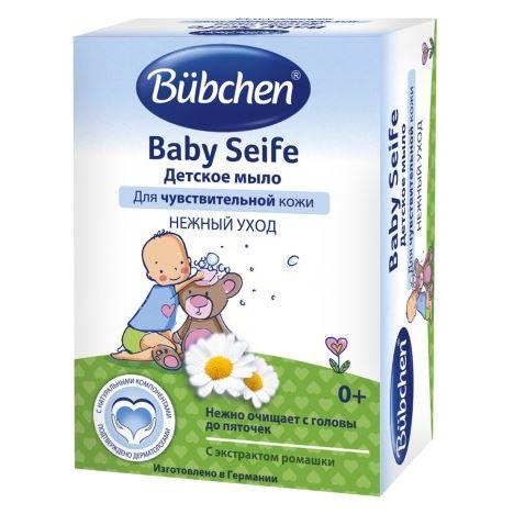 Мыло Bubchen Мыло детское (125 гр) мыло mon platin мыло минеральное 125 гр
