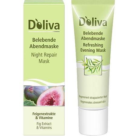 Маска D`Oliva Вечерняя оживляющая маска 30 мл дезодорант d oliva деороллер средиземноморская свежесть 50 мл