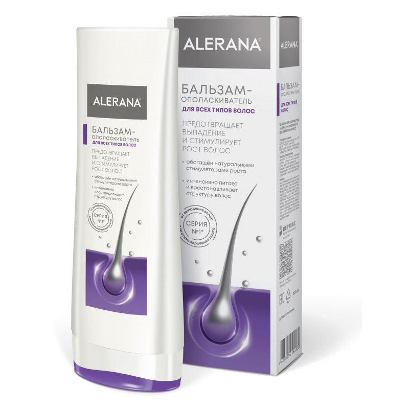 Бальзам Alerana Бальзам-ополаскиватель для всех типов волос 200 мл бальзам ополаскиватель
