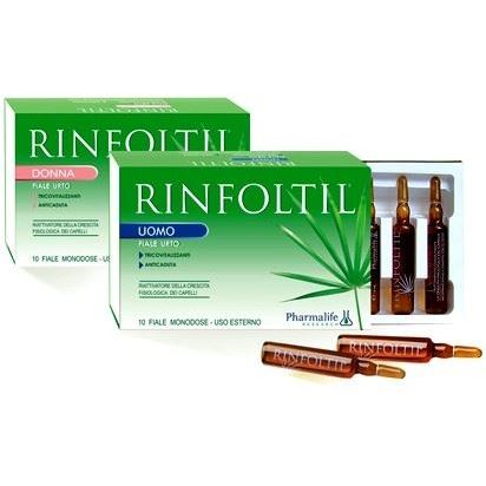 Ампулы Rinfoltil Ампулы для женщин 10 мл ринфолтил 60 таблетки