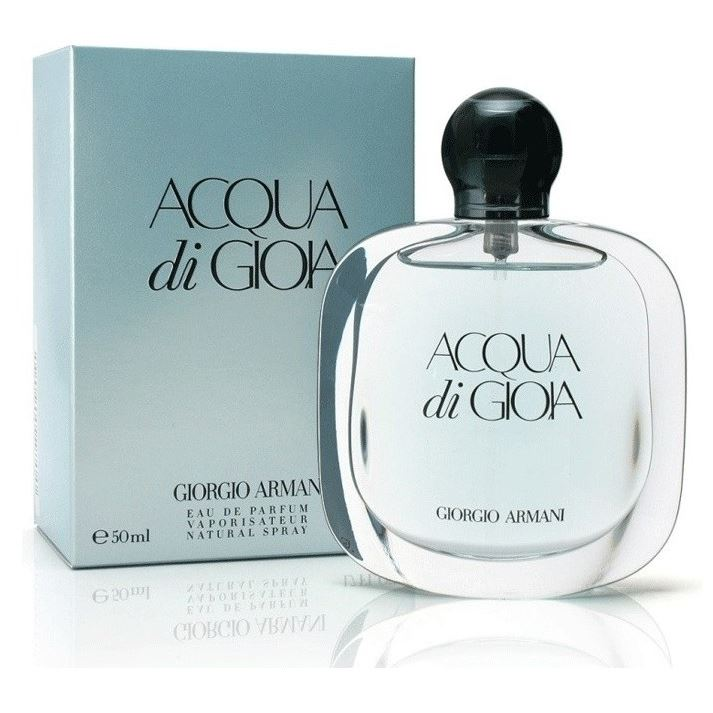 Туалетная вода Giorgio Armani Acqua di Gioia 50 мл giorgio armani парфюмерный набор мужской acqua di gio profumo 3 предмета