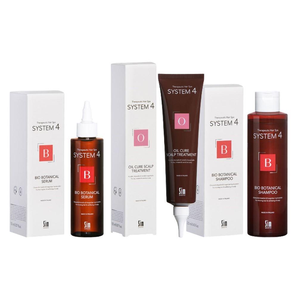 Сыворотка Sim Sensitive Комплекс от выпадения волос (Комплекс: маска, 100 мл + шампунь, 100 мл + сыворотка, 100 мл) sim sensitive 100