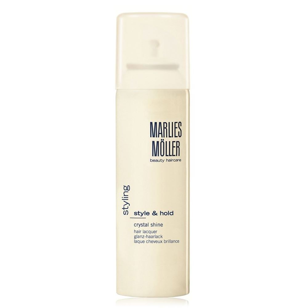 Лак Marlies Moller Style & Hold Crystal Shine Hair Lacquer 200 мл кондиционер marlies moller specialist silver shine spray 125 мл