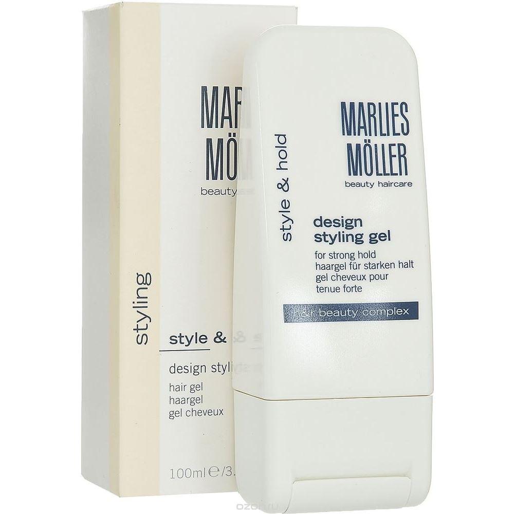 Гель Marlies Moller Style & Hold Design Styling Hair Gel 100 мл бальзам marlies moller specialist bb beauty balm for miracle hair 100 мл