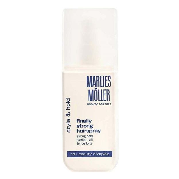 Лак Marlies Moller Style & Hold Finally Strong Hair Spray 125 мл кондиционер marlies moller specialist silver shine spray 125 мл