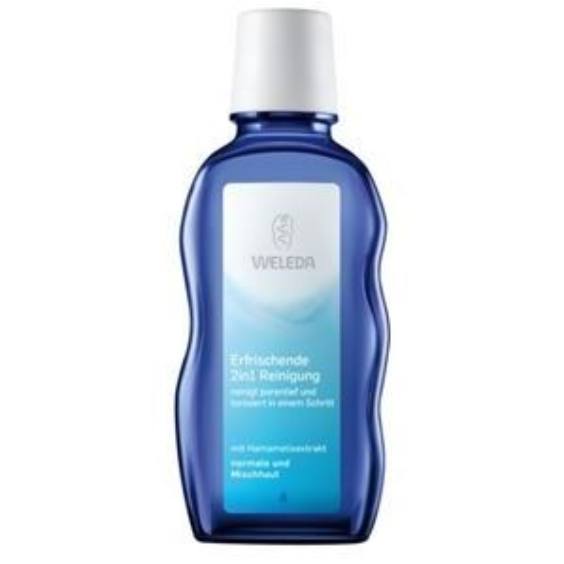 Жидкость Weleda Очищающее средство 2 в 1 100 мл тоники blue beautifly увлажняющее очищающее средство