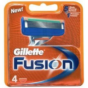 Кассеты Gillette Fusion - 4 Сменные Кассеты (4 шт) недорого