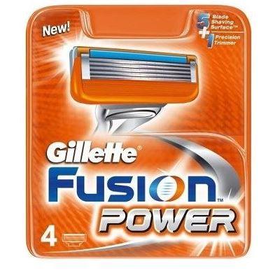 Кассеты Gillette Fusion Power - 4 Сменные Кассеты (4 шт. (eng)) недорого