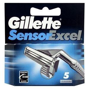 Кассеты Gillette Sensor Excel - 5 Сменных Кассет (5 шт)