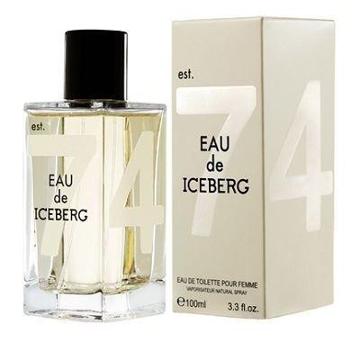 Туалетная вода Iceberg Eau de Iceberg Pour Femme 100 мл iceberg eau de iceberg man cedar 100