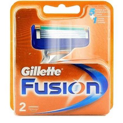 Кассеты Gillette Fusion - 2 Сменные Кассеты (2 шт. (рус.)) недорого