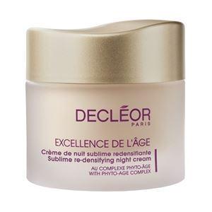 Decleor Excellence De L`age Sublime Re-Densifying Night Cream Крем ночной комплексный омолаживающий