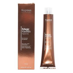 Kapous Professional Hair Color Cream With Keratin Non Ammonia
