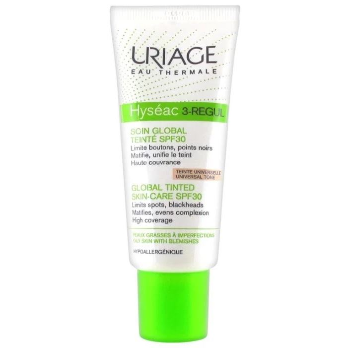 Uriage Hyseac Hyseac 3-Regul Global Tinted Skin-Care SPF 30 Универсальный тональный уход