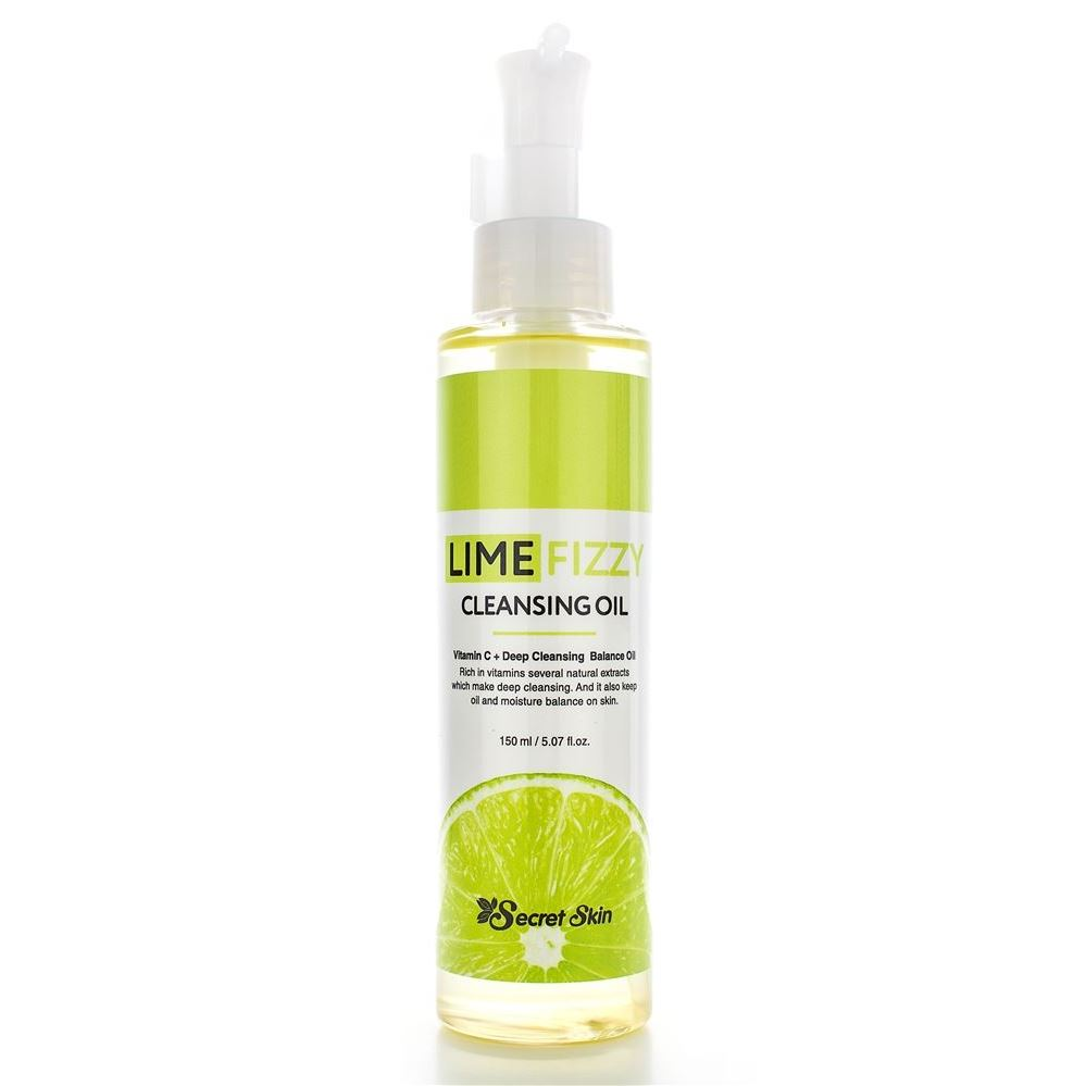 Secret Skin Cleansing Lime Fizzy Cleansing Oil Масло гидрофильное с экстрактом лайма