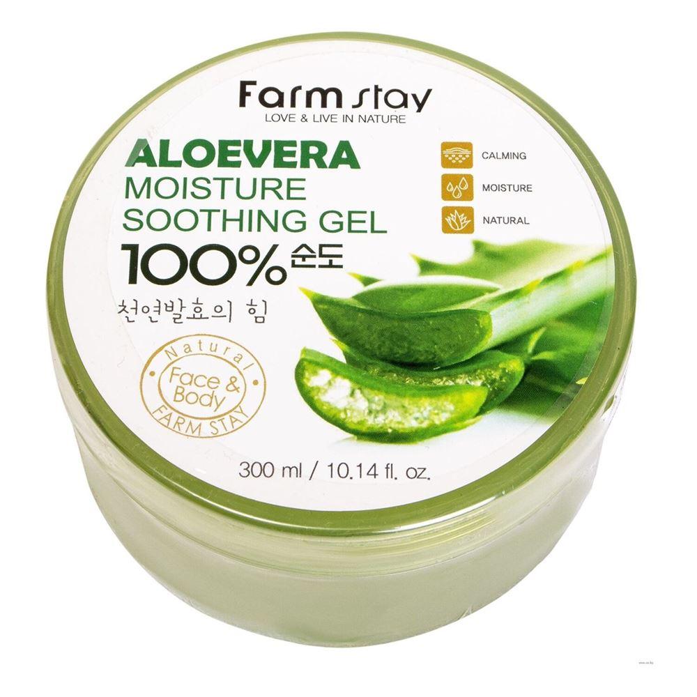 FarmStay Aloevera Moisture Soothing Gel 100% купить в интернет-магазине