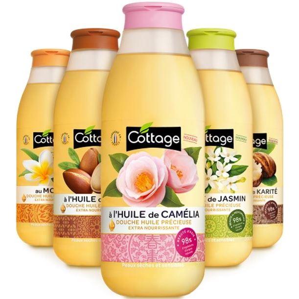 Cottage, гель с маслом, масло ореха, 250 мл, доставка коттаж бесплатно, отзывы о cottage, купить.